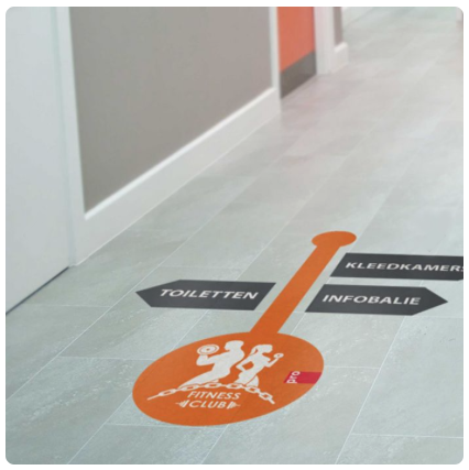 Vloersticker anti slip