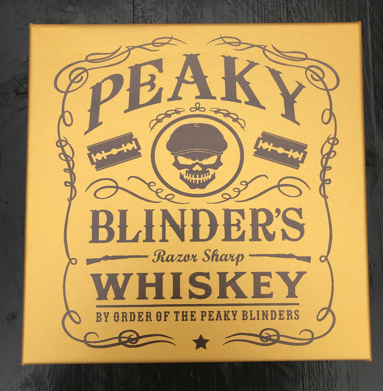 Peaky Blinders canvasdoek