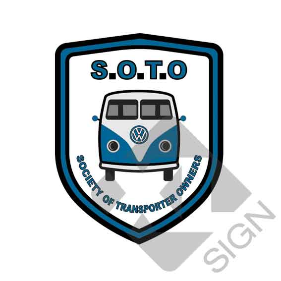 SOTO Society of transporter owners sticker