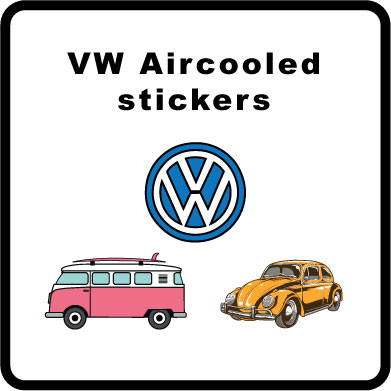 VW Aircooled stickers